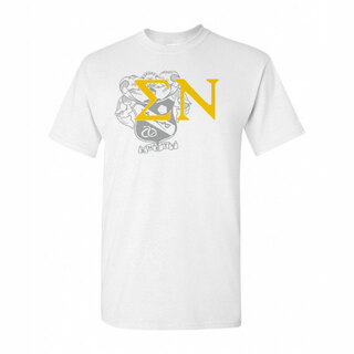 Sigma Nu Greek Crest - Shield T-Shirt