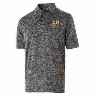 Sigma Nu Greek Letter Electrify Polo