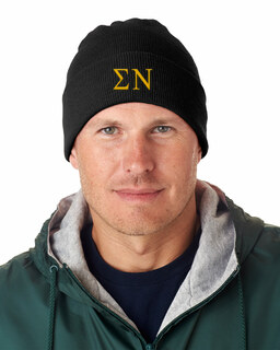 Sigma Nu Greek Letter Knit Cap