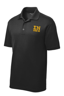 Sigma Nu Greek Letter Polo's