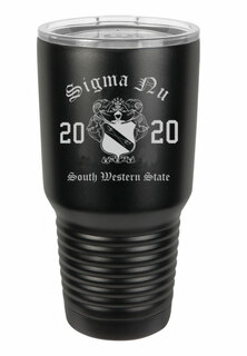 Sigma Nu Insulated Tumbler