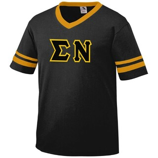 DISCOUNT-Sigma Nu Jersey With Custom Sleeves