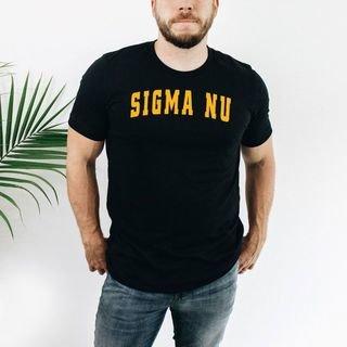 Sigma Nu letterman tee