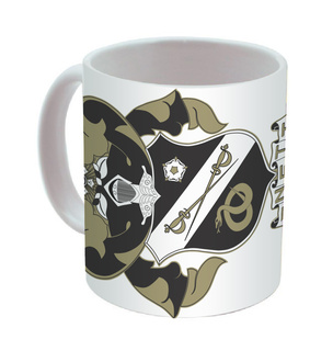 Sigma Nu Mega Crest - Shield Coffee Mug