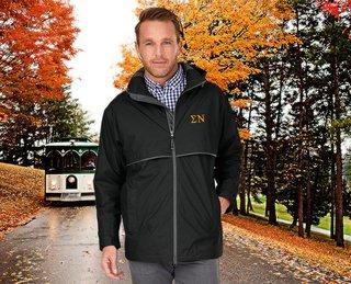 Sigma Nu Men's New Englander� Rain Jacket