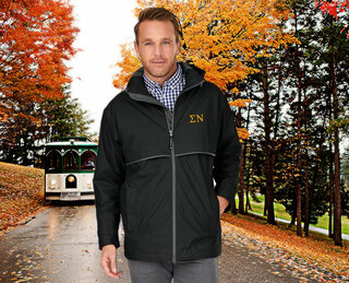 Sigma Nu Men's New Englander� Rain Jacket