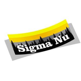 Sigma Nu Mountain Decal Sticker