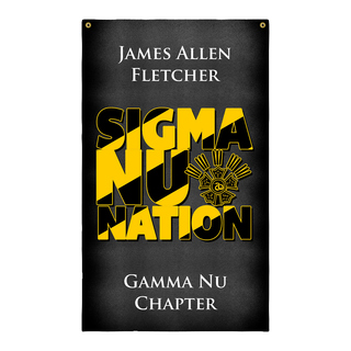 Sigma Nu Nations Giant Flag