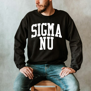 Sigma Nu Nickname Crewneck Sweatshirt