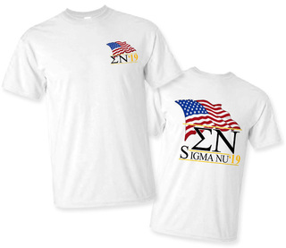 Sigma Nu Patriot Limited Edition Tee- $15!