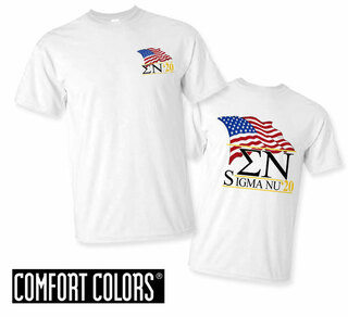 Sigma Nu Patriot  Limited Edition Tee - Comfort Colors