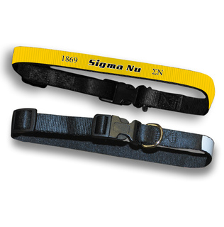 Sigma Nu Pet Collar