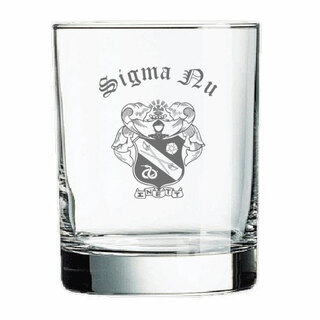 Sigma Nu Old Style Glass