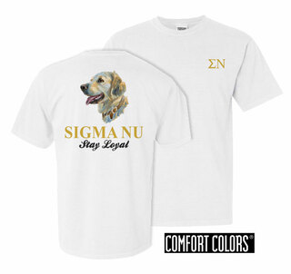 Sigma Nu Stay Loyal Comfort Colors T-Shirt