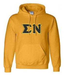 Sigma Nu Sewn Lettered Sweatshirts