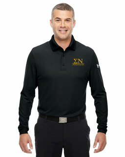Sigma Nu Under Armour�  Men's Performance Long Sleeve Fraternity Polo