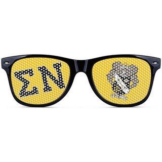 Sigma Nu Wayfarer Style Lens Sunglasses