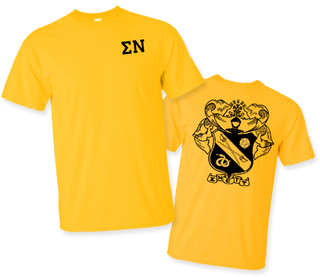 Sigma Nu World Famous Greek Crest T-Shirts - $16.95!- MADE FAST!