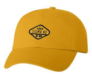 DISCOUNT-Sigma Nu Woven Emblem Hat