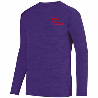 Sigma Phi Epsilon- $26.95 World Famous Dry Fit Tonal Long Sleeve Tee
