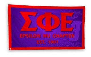 Sigma Phi Epsilon 3 x 5 Flag
