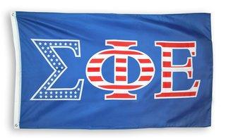 Sigma Phi Epsilon 3 X 5 USA Flag