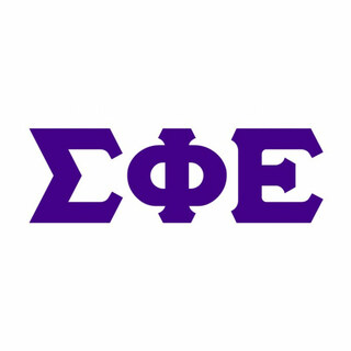 Sigma Phi Epsilon Big Greek Letter Window Sticker Decal