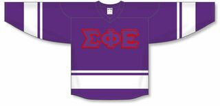 DISCOUNT-Sigma Phi Epsilon Breakaway Lettered Hockey Jersey