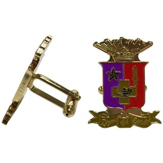 Sigma Phi Epsilon Color Crest - Shield Cuff links-ON SALE!