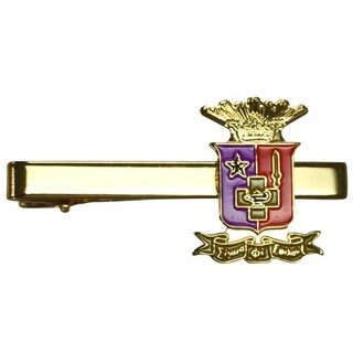 Sigma Phi Epsilon Color Crest - Shield Tie Clips