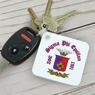 Sigma Phi Epsilon Color Keychains
