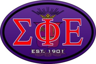 Sigma Phi Epsilon Color Oval Decal