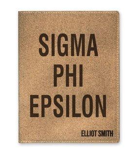 Sigma Phi Epsilon Cork Portfolio with Notepad