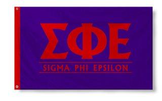 Sigma Phi Epsilon Custom Line Flag
