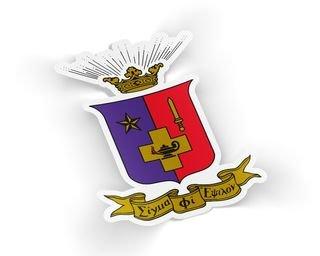Sigma Phi Epsilon Die Cut Crest Sticker