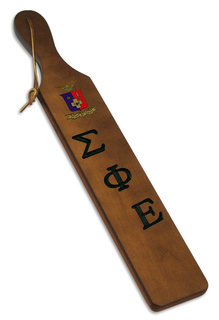 Sigma Phi Epsilon Discount Paddle