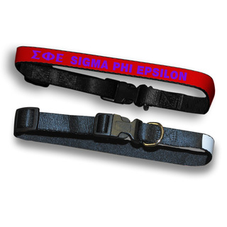 Sigma Phi Epsilon Dog Collar