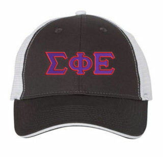 Sigma Phi Epsilon Double Greek Trucker Cap