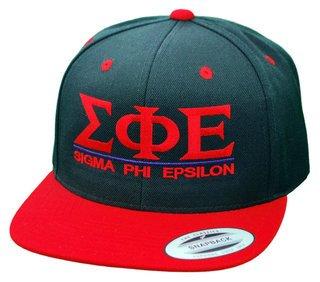 Sigma Phi Epsilon Flatbill Snapback Hats Original