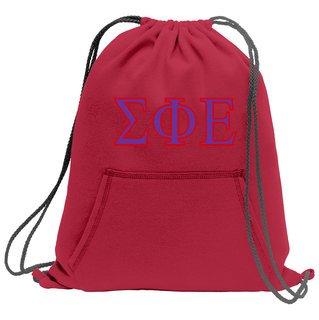 Sigma Phi Epsilon Fleece Sweatshirt Cinch Pack