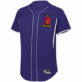Sigma Phi Epsilon Game 7 Full-Button Baseball Jersey