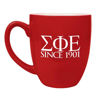 Sigma Phi Epsilon Greek Bistro Mug