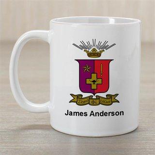 Sigma Phi Epsilon Greek Crest Coffee Mug - Personalized!