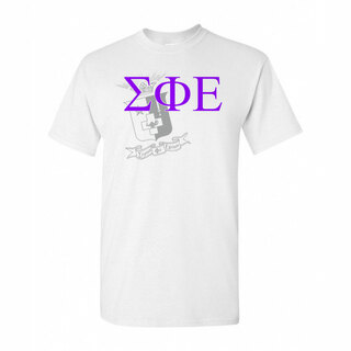 Sigma Phi Epsilon Greek Crest - Shield T-Shirt