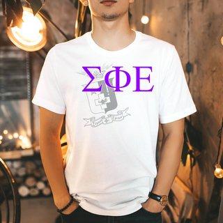 Sigma Phi Epsilon Greek Crest - Shield T-Shirt