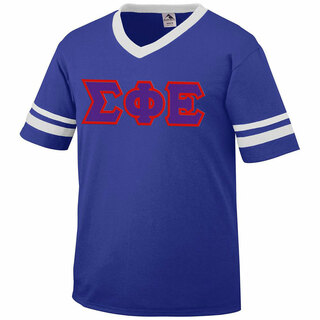 DISCOUNT-Sigma Phi Epsilon Jersey With Greek Applique Letters