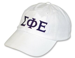 Sigma Phi Epsilon Letter Hat