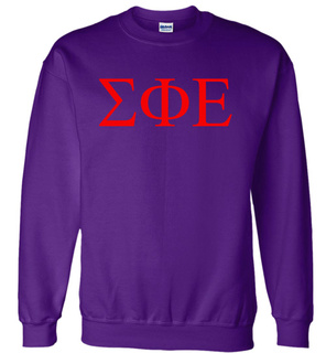 Sigma Phi Epsilon Lettered World Famous $19.95 Greek Crewneck