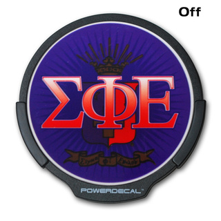 Sigma Phi Epsilon Light Up Power Decal