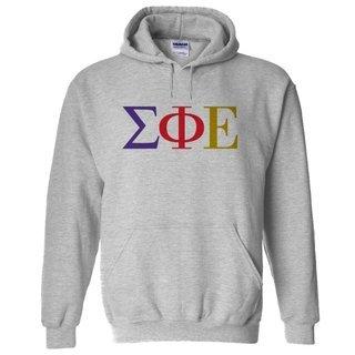 Sigma Phi Epsilon Logo Hooded Sweatshirt